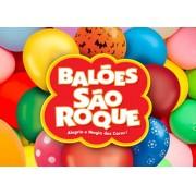 Balão Sortidos  nº 9 São Roque (50 unidades)