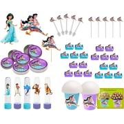 Festa Aladdin e Jasmine 99 peças (10 pessoas)
