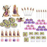 Festa Enrolados (Rapunzel)  161 peças (20 pessoas)