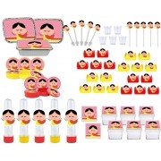 Festa Magali Toy 120 peças (10 pessoas)