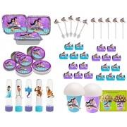 Kit Aladdin e Jasmine 106 Peças (10 pessoas)