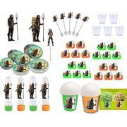 Kit festa Aquaman 155 peças (20 pessoas)