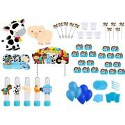 Kit Festa Fazendinha (menino) 363 Peças (20 pessoas)
