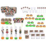 Kit festa Gravity Falls 121 peças (10 pessoas)