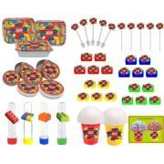 Kit Festa Infantil Lego 160 Peças (20 pessoas)