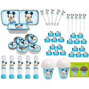 Kit Festa Infantil Mickey Baby 352 Peças (50 pessoas)