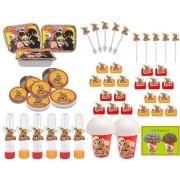 Kit festa infantil Naruto 292 peças (30 pessoas)