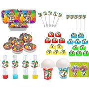 Kit Festa Infantil Patati Patatá 160 Peças (20 pessoas)