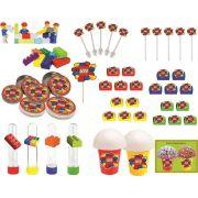 Kit festa Lego 143 peças (20 pessoas)