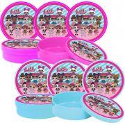 Kit Festa Lol Surprise (pink E Azul Claro) 161 Peças (20 pessoas)