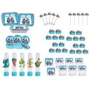 Kit festa Monstros SA 114 peças (10 pessoas)