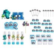 Kit festa Monstros SA 161 peças (20 pessoas)