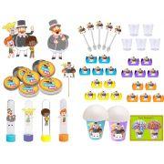 Kit festa Mundo Bita 95 peças (10 pessoas)