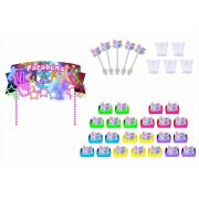 Kit festa Neon 61 peças