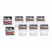 Kit festa Now United (preto) 173 peças (20 pessoas)