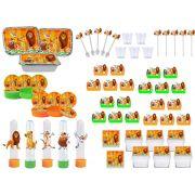 Kit festa O Rei Leão 120 peças (10 pesspas)