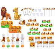 Kit festa O Rei Leão 173 peças (20 pessoas)