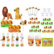 Kit festa O Rei Leão 95 peças (10 pessoas)