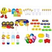 Kit festa Pac Man 363 peças (20 pessoas)
