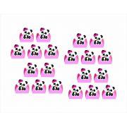 Kit festa Panda menina 61 peças