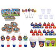Kit festa Patrulha Canina 152 peças (20 pessoas)