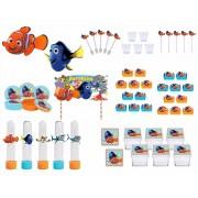 Kit festa Procurando Nemo  (113 peças) 10 pessoas