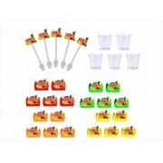 Kit festa Salada de Frutas 95 peças (10 pessoas)