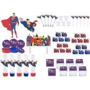 Kit festa Super Man 113 peças (10 pessoas)