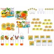 Kit festa Tardezinha 113 peças (10 pessoas)