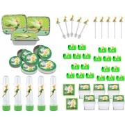 Kit  festa Tinker Bell 114 Peças (10 pessoas)