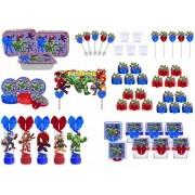 Kit festa decorado Vingadores Baby  121 peças (10 pessoas)