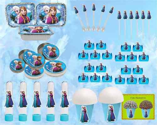 Kit Festa Infantil Frozen 292 Peças