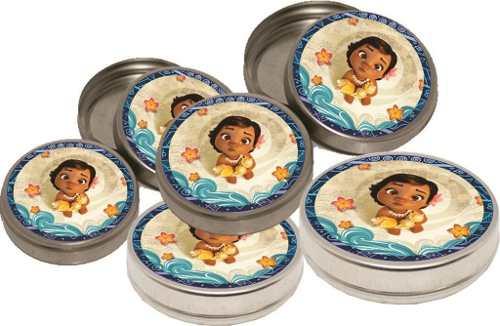 Kit Festa Infantil Moana Baby 265 Peças