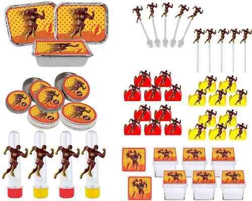 Kit Festa Infantil Flash 178 Pças