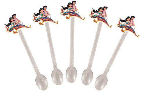 Kit Festa Infantil Aladdin E Jasmine 161 Peças (20 pessoas)