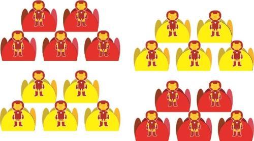 Kit Festa Homem De Ferro Baby 107 Peças (10 pessoas)