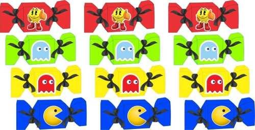 Kit Festa Infantil Pac Man 60 Peças (10 pessoas)