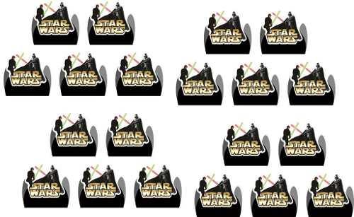 Kit Festa Infantil Star Wars 143 Peças (20 pessoas)