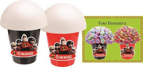 Kit Festa Infantil Os Incríveis 265 Peças (30 pessoas)