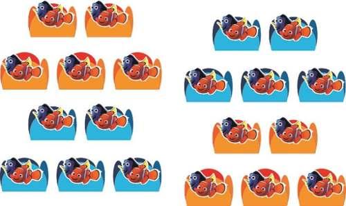 Kit Festa Procurando Nemo 161 Peças (20 pessoas)