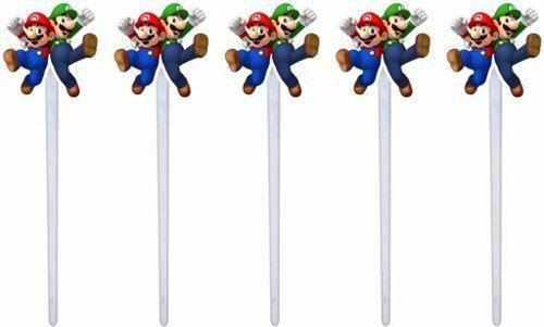 Kit Festa Infantil Mario Bros 143 Peças (20 pessoas)