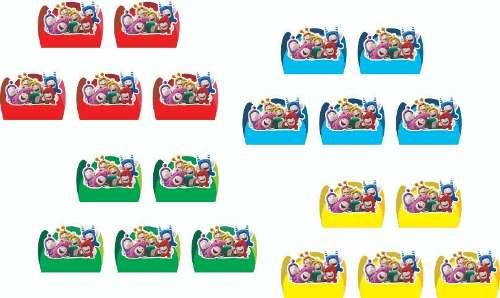 Kit Festa Infantil Oddbods 143 Peças (20 pessoas)