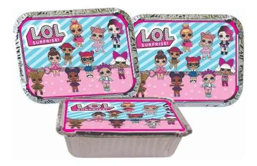 Kit Festa Lol Surprise (pink E Lilás) 106 Peças (10 pessoas)