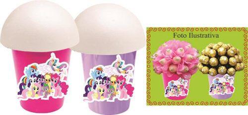 Kit Festa  My Litlle Pony 106 Peças (10 pessoas)
