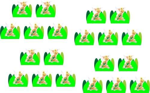 Kit Festa Tinker Bell (sininho) 106 Peças (10 pessoas)