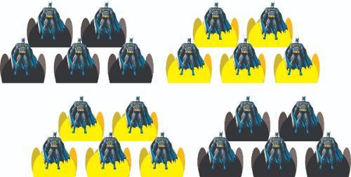 Kit Festa Infantil Batman 106 Peças (10 pessoas)