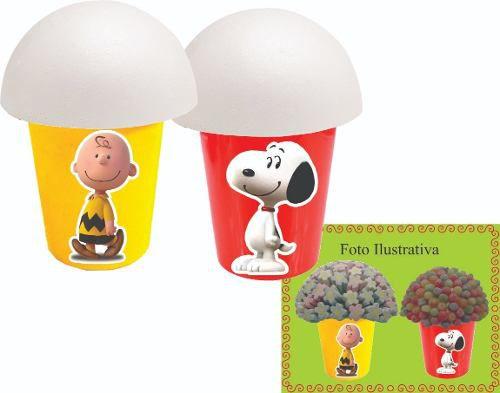 Kit Festa Infantil Snoopy 106 Peças (10 pessoas)