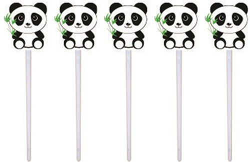 Kit Festa Infantil Panda Menino (azul) 99 Peças (10 pessoas)