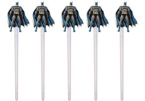 Kit Festa Infantil Batman 99 Peças (10 pessoas)