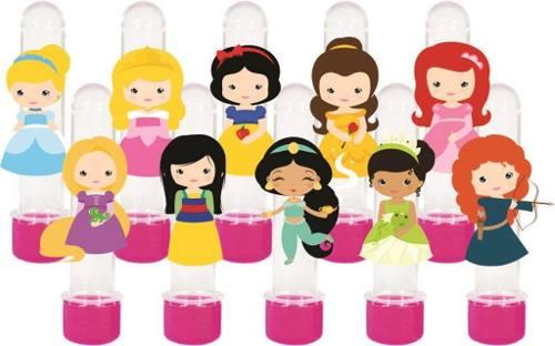 Kit Festa Princesas Baby 292 Peças (30 pessoas)